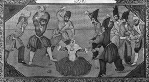 Stoning a Woman for Adultery (Qajar Era)