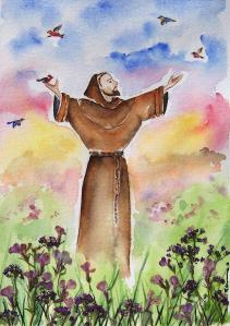 Saint Francis of Assisi (Regina Ammerman)