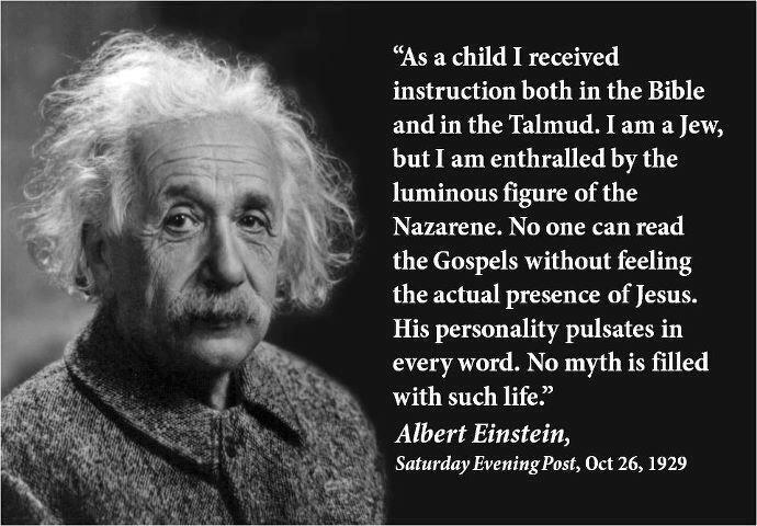 quote on Jesus (Albert Einstein)