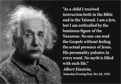 quote on Jesus (Albert Einstein)