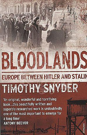 Bloodlands (Timothy Snyder) Cover