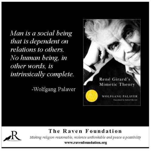 Man as Social Being (Wolfgang Palaver)