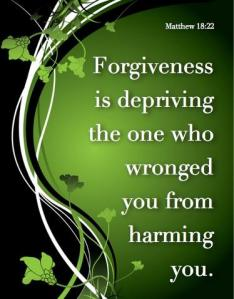 forgiveness saves from harm