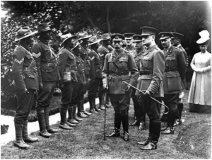 George V and members of WAFF