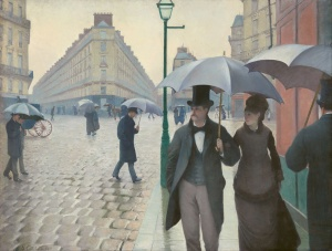 Gustave Caillebotte_Paris Street Rainy Day 1877