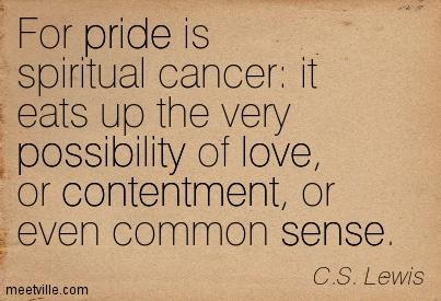 c.s. lewis essays on pride