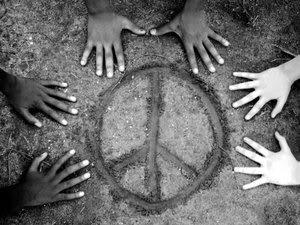 Peace Human Hands