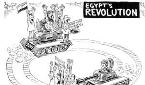 Arab Spring Egypt Revolution Cycle