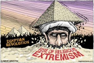 Arab Spring Egypt Rise of Extremism