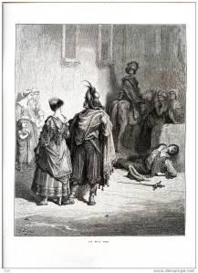 Les Deux Coqs (Gustave Doré)
