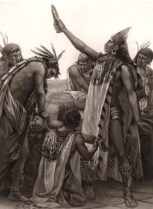 Aztec human sacrifice