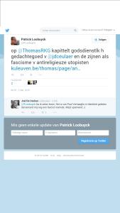 Patrick Loobuyck Joël De Ceulaer twitter