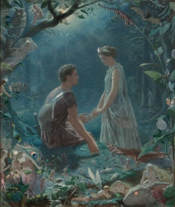Hermia and Lysander (John Simmons 1870)