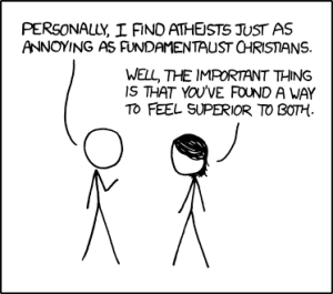 atheists and fundamentalists