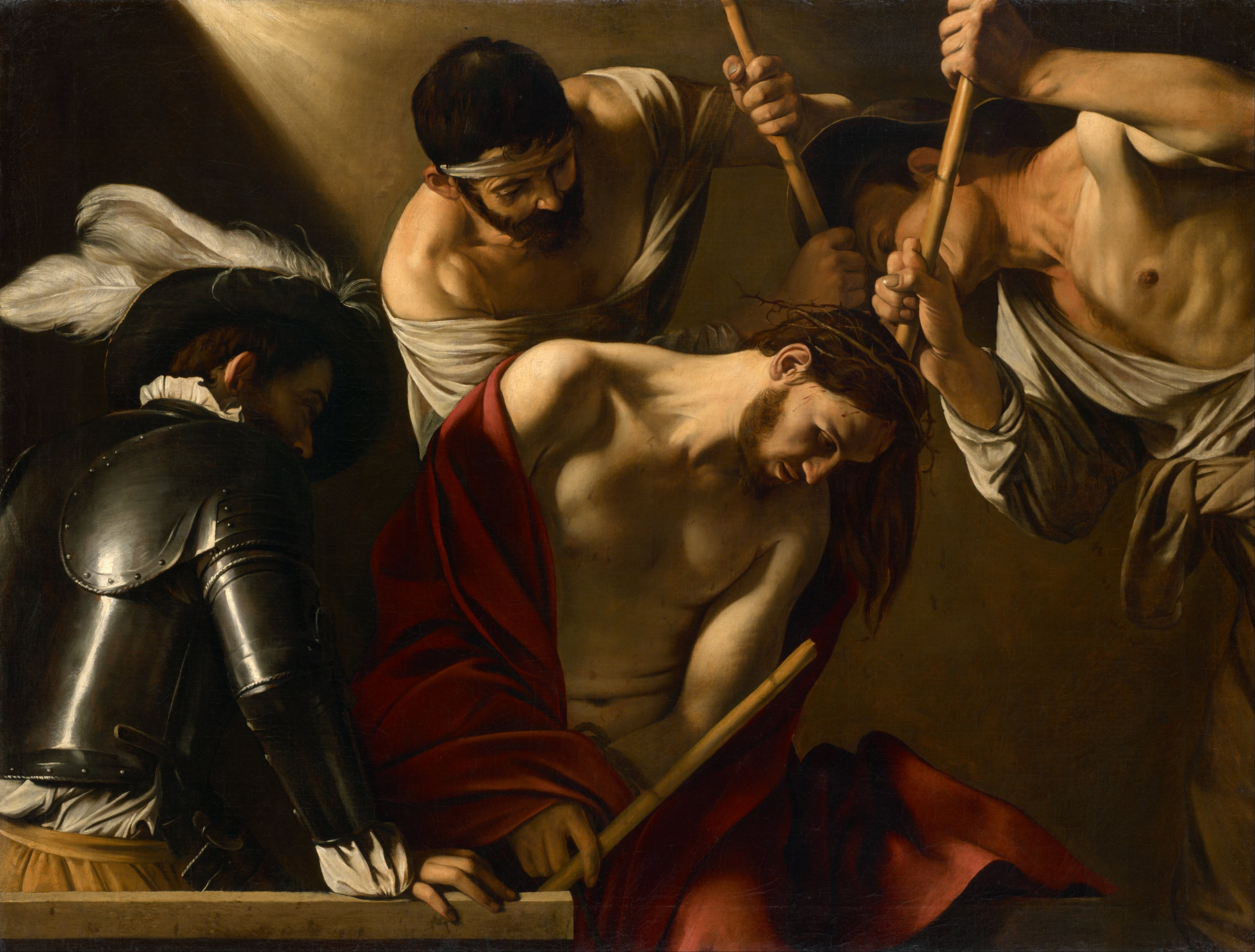 Crowning of Thorns Caravaggio