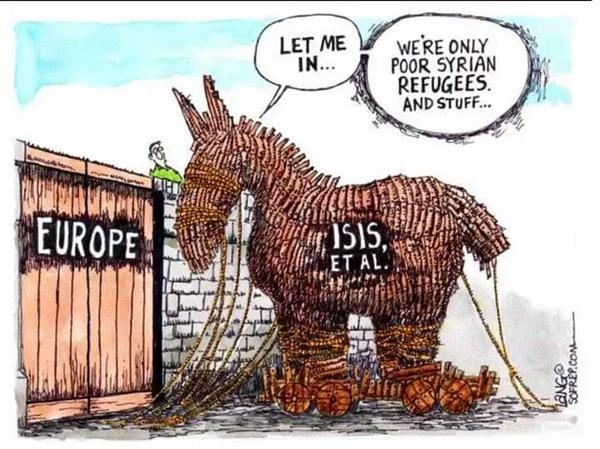 Syrian Refugees Trojan Horse for ISIS