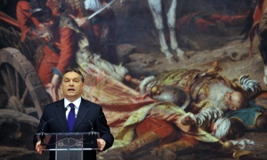 Viktor Orban Hungarian national gallery