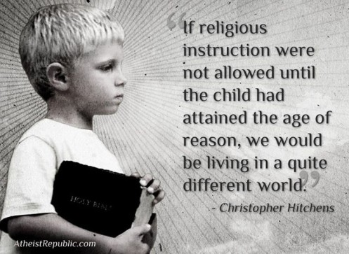 a quite different world (Christopher Hitchens quote)