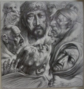 Jesus and Demoniac (Peter Howson)