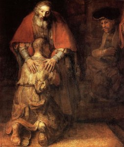 The Prodigal Son (Rembrandt c1669)