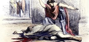 Assassination of Julius Caesar by Brutus