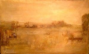 paysage jaune (constant permeke)