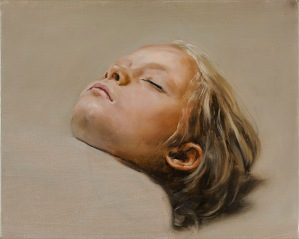 sleeper (michaël borremans)