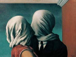the lovers (rené magritte)