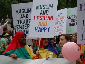 Muslim Lesbian Gay Happy
