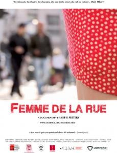 Femme de la Rue poster