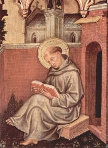 Thomas Aquinas (Gentile da Fabriano)