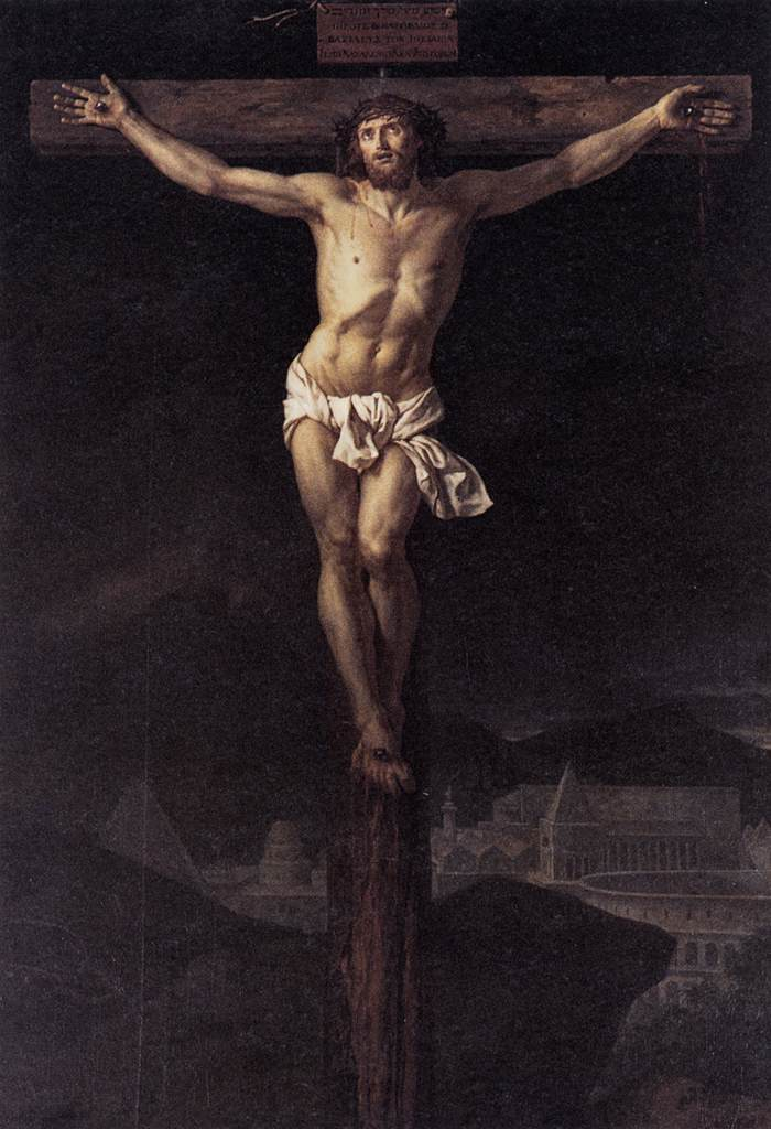 Christ on the Cross (Jacques-Louis David, 1782)