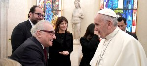 Martin Scorsese and Pope Francis