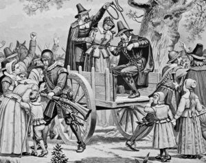 Salem Witch Trial Bridget Bishop Hanged