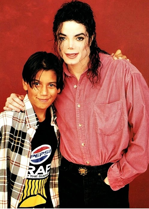 Michael Jackson and Brett Barnes (Photoshoot)