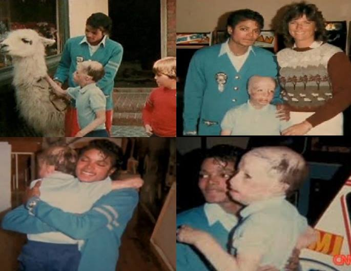 Michael Jackson and Dave Dave