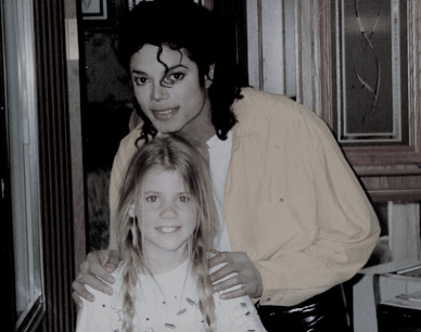 Michael Jackson and Kelley Parker