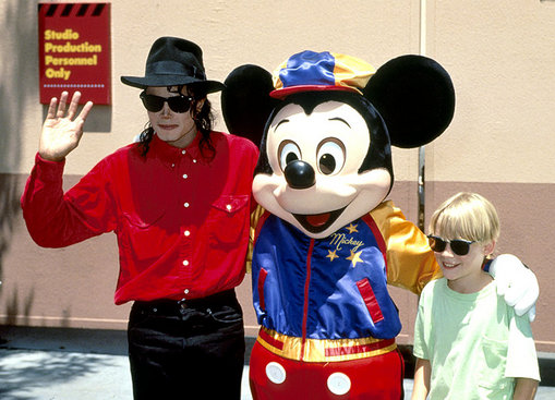 Michael Jackson and Macaulay Culkin (1991)