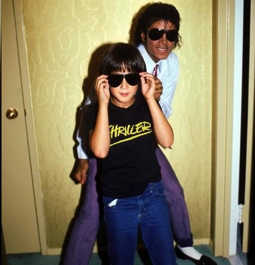 Michael Jackson and Sean Lennon 1