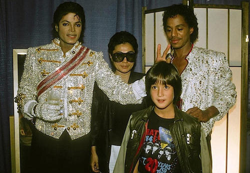 Michael Jackson and Sean Lennon 2