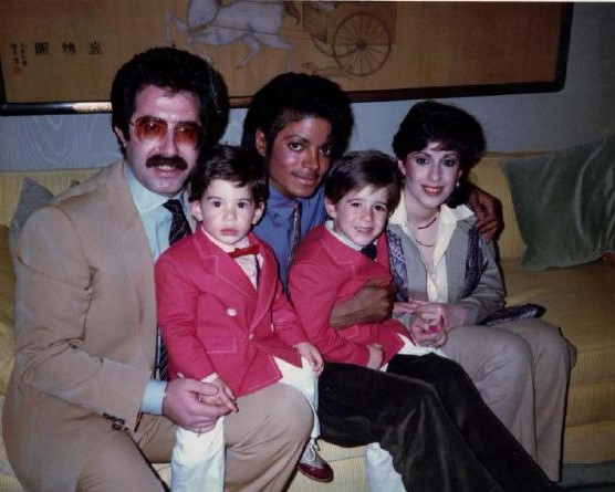 Michael Jackson with Cascio Brothers