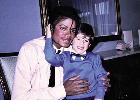 Michael Jackson with Frank Cascio