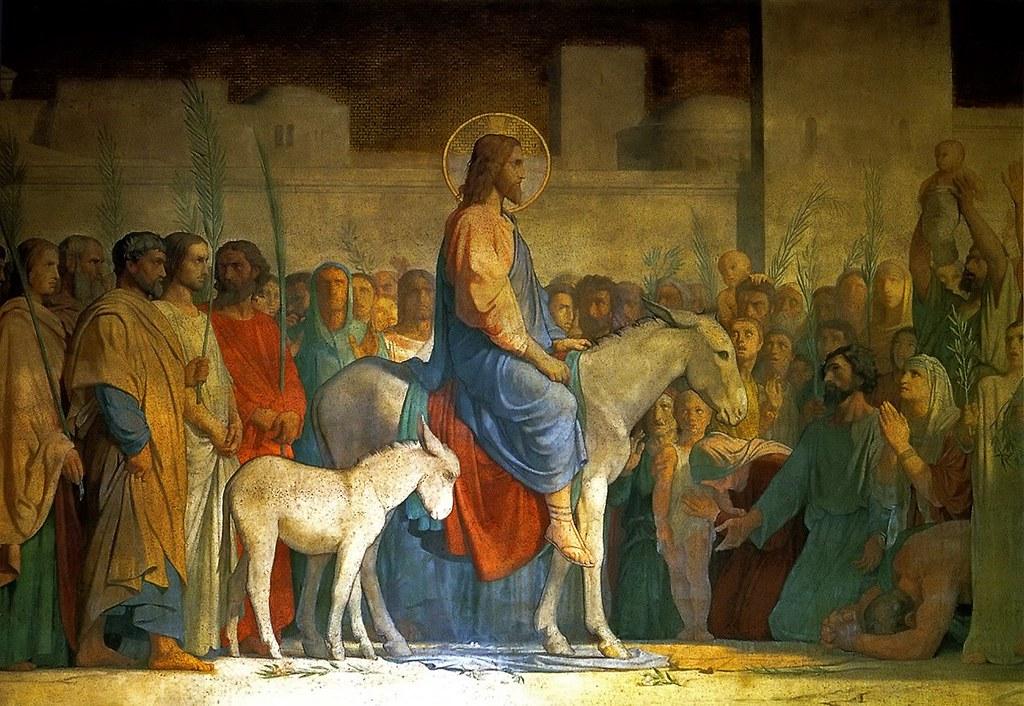 Christ Entry into Jerusalem_Hippolyte_Flandrin_1842