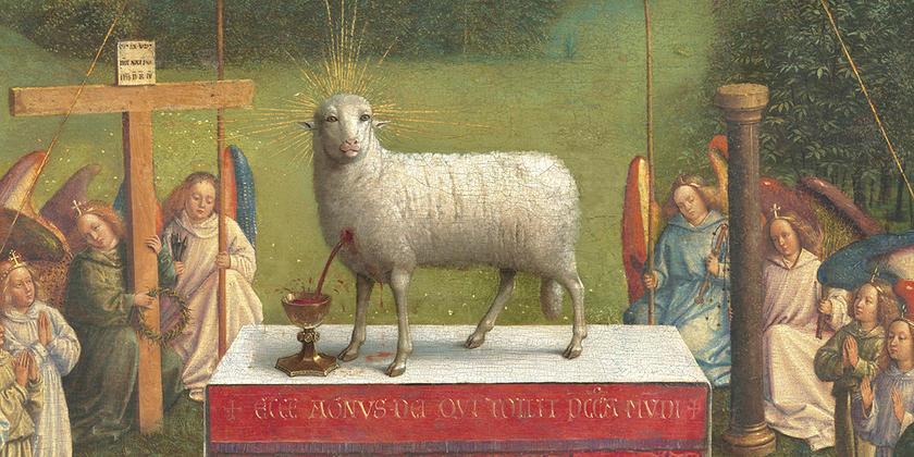 Ghent Altarpiece Mystic Lamb