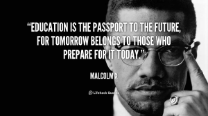 Malcolm X on Education