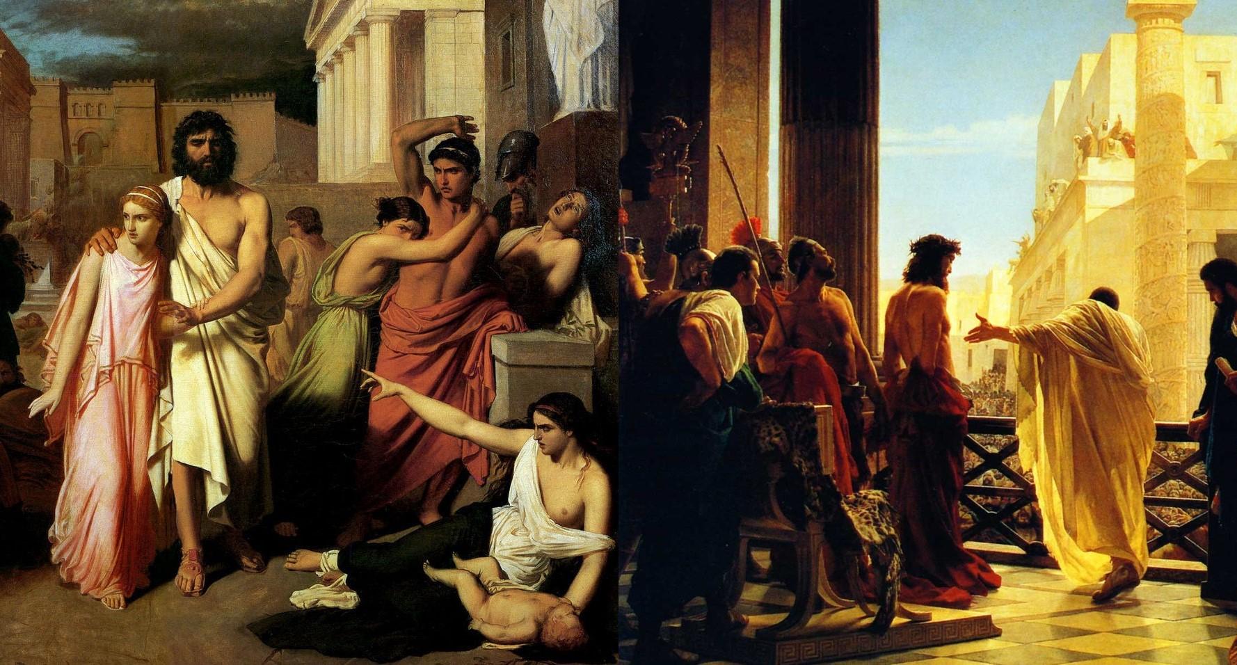 Oedipus of Myth vs Jesus of Gospel